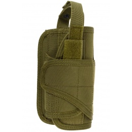 Condor Outdoor MOLLE VT Holster w/ Wrap-Around Design - OD GREEN