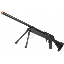 Echo1 ASR Bolt Action Airsoft Sniper Rifle w/ Quick Release Bipod
