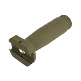 AIM Sports Tactical Rubberized Heavy Duty Vertical Foregrip - OD
