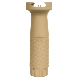 AIM Sports Tactical Rubberized Heavy Duty Vertical Foregrip - TAN