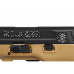 Cybergun/KWC Airsoft Licensed Smith & Wesson M&P40 CO2 Pistol - TAN
