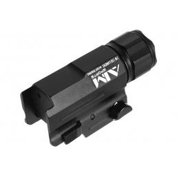 AIM Sports 150 Lumen Compact Flashlight w/ Quick-Release Weaver Mount
