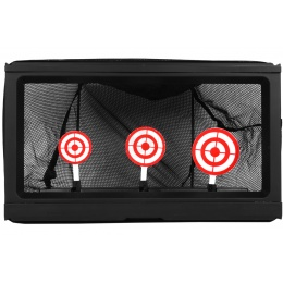 TSD Sports Airsoft Target System w/ Auto Reset and BB Trap Net
