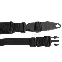 Condor Outdoor Double Bungee One Point Sling - BLACK