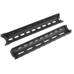 Magpul PTS MOE Hand Guard, Rifle Length for M16 AEG Rifles - BLACK