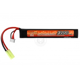 VB-Power Airsoft 11.1V 15C LIPO Stick AEG Battery - 1300 mAh