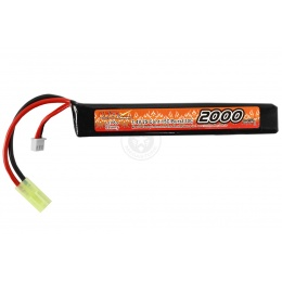VB-Power Airsoft 7.4V 15C LIPO Stick AEG Battery - 2000 mAh