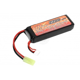 VB-Power Airsoft 11.1V 15C LIPO Small Type Battery - 2200 mAh