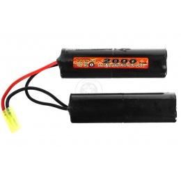 VB-Power Airsoft 9.6V Ni-MH Slim Custom Type AEG Battery - 2000 MAH