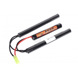 VB-Power 9.6V Ni-MH Slim Crane Stock Type AEG Battery - 2000 MAH