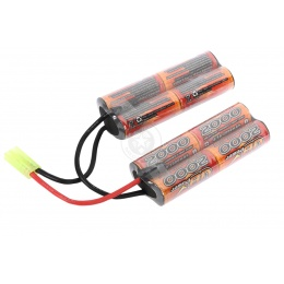 VB-Power Airsoft 9.6V Ni-MH Custom Type AEG Battery - 2000 MAH