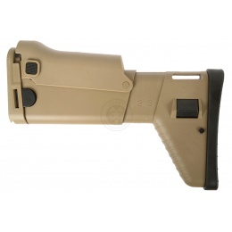 DBoys M4-TDW / MK16 Replacement Tactical Airsoft Rear Stock - TAN
