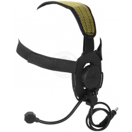 Z-Tactical Single-Sided Bowman Evo III Tactical Headset - BLACK
