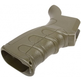 Element G16 Slim Ergonomic  M4 / M16 AEG Motor Grip - FOLIAGE GREEN