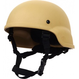 FDG MICH 2000 Replica Tactical Airsoft Helmet - TAN