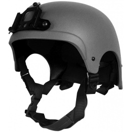 G-Force High Cut IBH Airsoft Helmet w/ NVG Shroud - BLACK