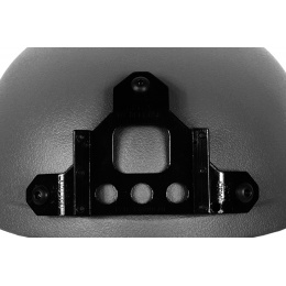 G-Force High Cut IBH Airsoft Helmet w/ NVG Shroud - BLACK