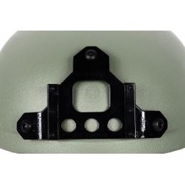 G-Force High Cut IBH Airsoft Helmet w/ NVG Shroud - OD GREEN