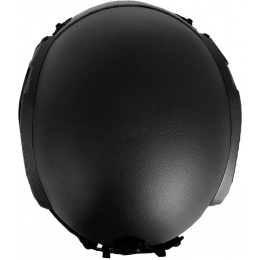 G-Force Tactical IBH Airsoft Helmet w/ NVG Shroud & Side Rails - BLACK