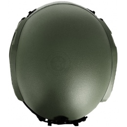 G-Force Tactical IBH Airsoft Helmet w/ NVG Shroud & Side Rails - OD