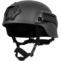 G-Force MICH 2000 Replica Helmet w/ Side Adapter Rails - BLACK