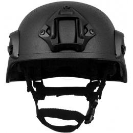 G-Force MICH 2000 Replica Helmet w/ Side Adapter Rails - BLACK