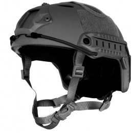 G-Force Tactical Operator BUMP Helmet w/ Side Accessory Rails - BLACK