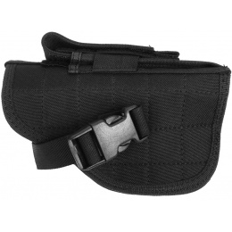 FDG ELITE Tactical Belt and Hip Holster - BLACK - Right Handed