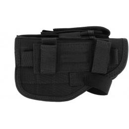 FDG ELITE Tactical Belt and Hip Holster - BLACK - Right Handed