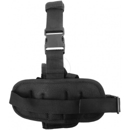 FDG ELITE Tactical Drop Leg Holster - BLACK - RIGHT HANDED