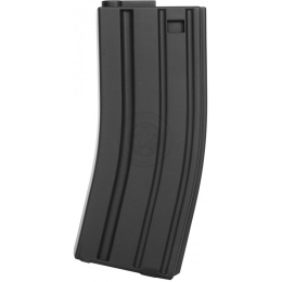 Box of 5 King Arms 120rd M4 / M16 AEG Mid Cap Magazines - BLACK