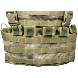 Flyye Industries 1000D Cordura WSH MOLLE Chest Rig - A-TACS