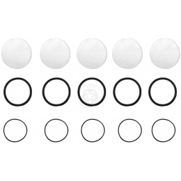 Replay XD 5 Pack Clear Lens Cover Replacement Set for XD720