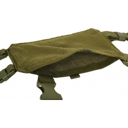 Condor Outdoor MCR7 Ronin Tactical MOLLE Split Chest Rig - OD
