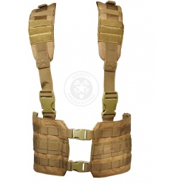 Condor Outdoor MCR7 Ronin Tactical MOLLE Split Chest Rig - TAN