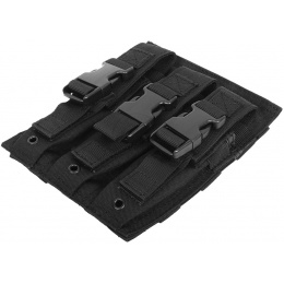 Condor Outdoor MA37 MOLLE Triple MP5 / M5 Magazine Pouch - BLACK