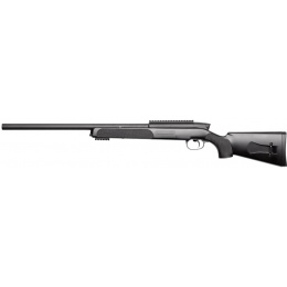 ASG Steyr Licensed SSG 69 P2 Airsoft Bolt Action Sniper Rifle - BLACK