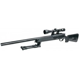 ASG Steyr Licensed SSG 69 P2 Airsoft Bolt Action Sniper Rifle - BLACK