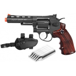 Value CO2 Package: WG M705 Sport Series CO2 Revolver Airsoft Pistol