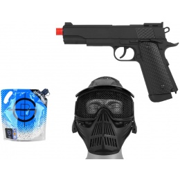 Value CO2 Package: WELL 1911 CO2 NBB 1911 Target Pistol