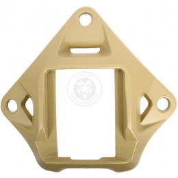 G-Force BUMP Helmet Replacement Three Hole NVG Shroud - TAN