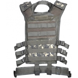 NcStar Youth Cross Draw Tactical Vest w/ Integrated Holster - ACU