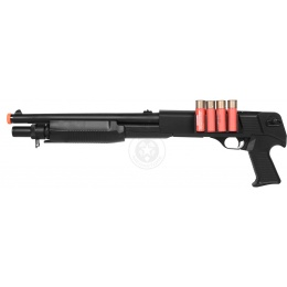 AGM Airsoft M183-A1 Sawed Off Single Shot Pump Action Shotgun