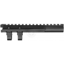 CYMA C07 Airsoft AK74 Aluminum Top Handguard Gas Tube Rail - Black
