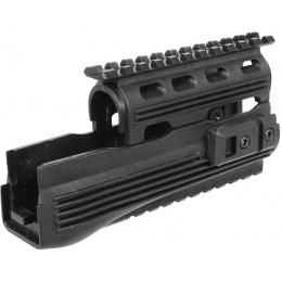 CYMA C79 Airsoft AK47 RIS Polymer Tactical Handguard - Black