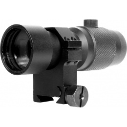 NcStar Airsoft Tactical 3X Prismatic Magnifier w/ RB24 Ring Mount