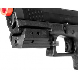 NcStar Airsoft Low Profile Tactical Red Laser w/ Weaver Rail Mount