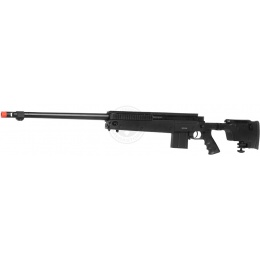 WellFire MB4407 Tri-Rail MK96 Spring Airsoft Sniper Rifle - BLACK