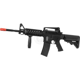 ASG Licensed LMT Defender RIS Pro-Line Airsoft AEG Rifle w/ Flash Mag