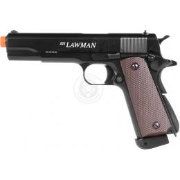 ASG Licensed STI Lawman 1911A1 CO2 Blowback Airsoft Pistol